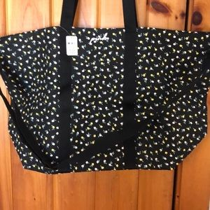 VS Pink Tote with crossbody strap NWT